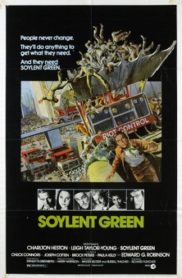 Soylent Green One Sheet Seven Future Scenarios